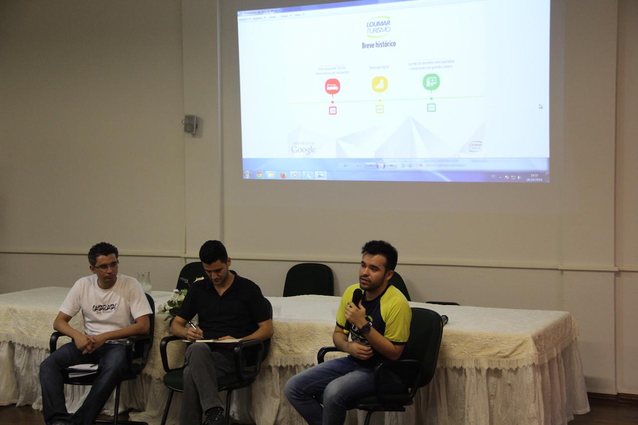 Garon apresentou a visão de marketing da Loumar Turismo aos universitários
