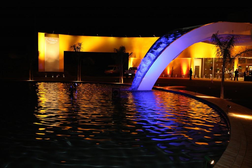 Fachada maravilhosa do Hotel Mabu Interludium em Foz do Iguaçu