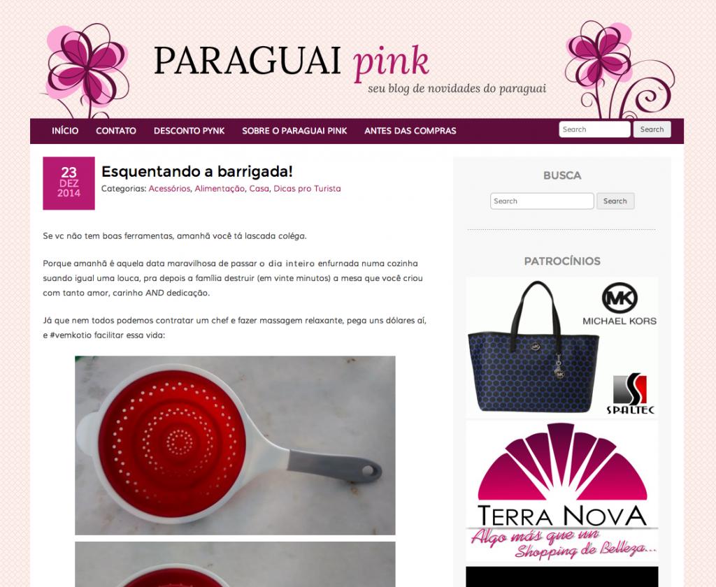PAraguai Pink
