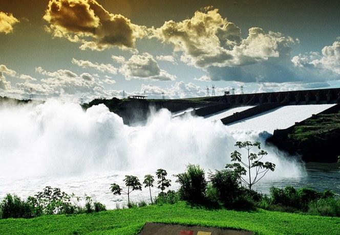 Itaipu Binacional em Foz do Igua;cu