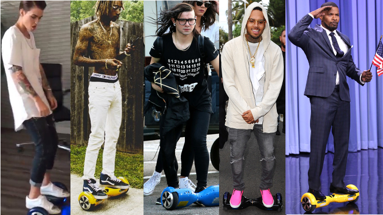 celebrities-riding-2-wheel-electric-hoverboard-scooters