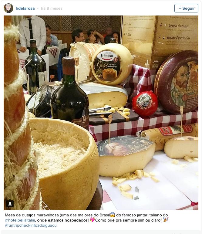queijos da noite italiana