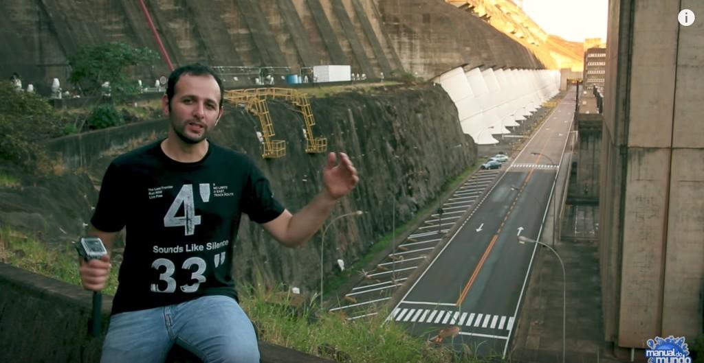 Manual do Mundo explica com linguagem simples o funcionamento da usina hidrelétrica de Itaipu Binacional