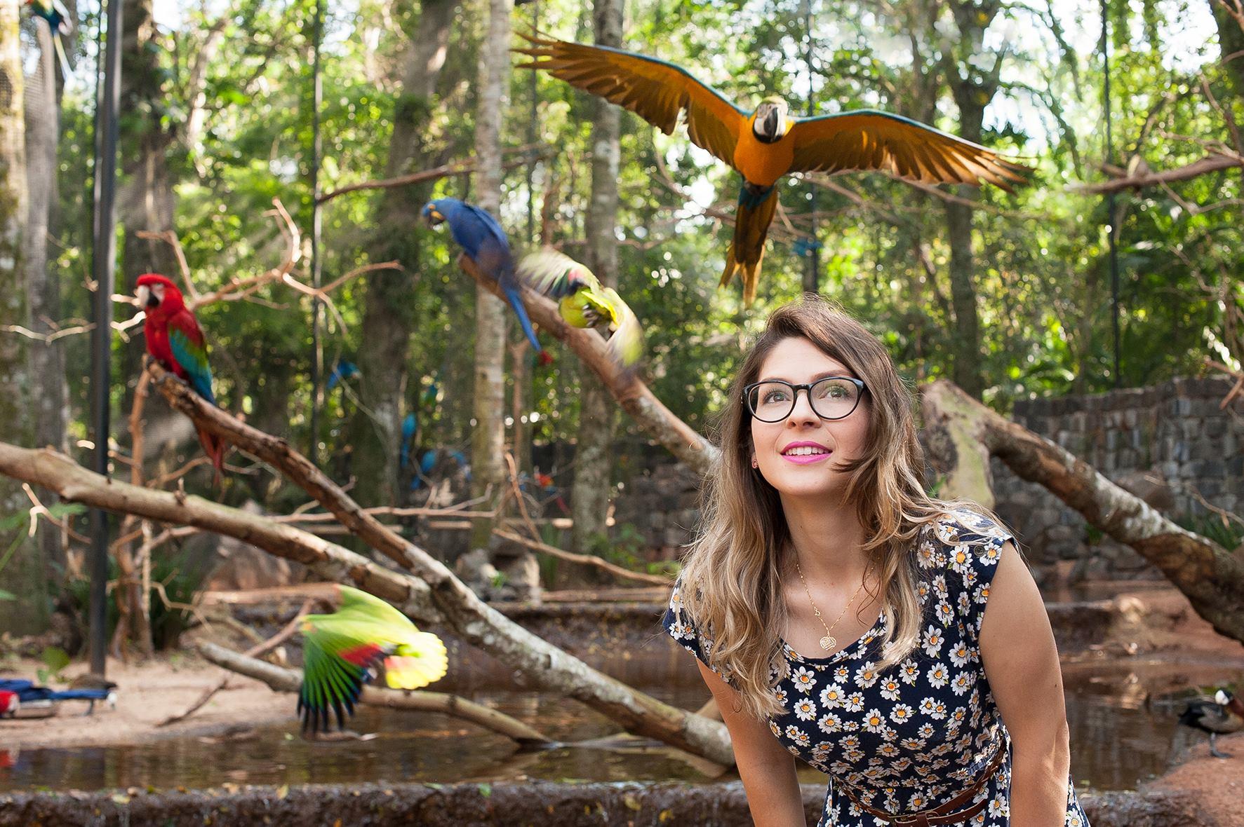 preço da entrada do parque das aves