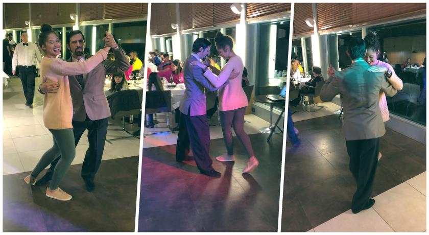 Ah, durante o jantar ainda acontece um show exclusivo de tango, onde você poderá até aprender os conceitos básicos da famosa dança argentina