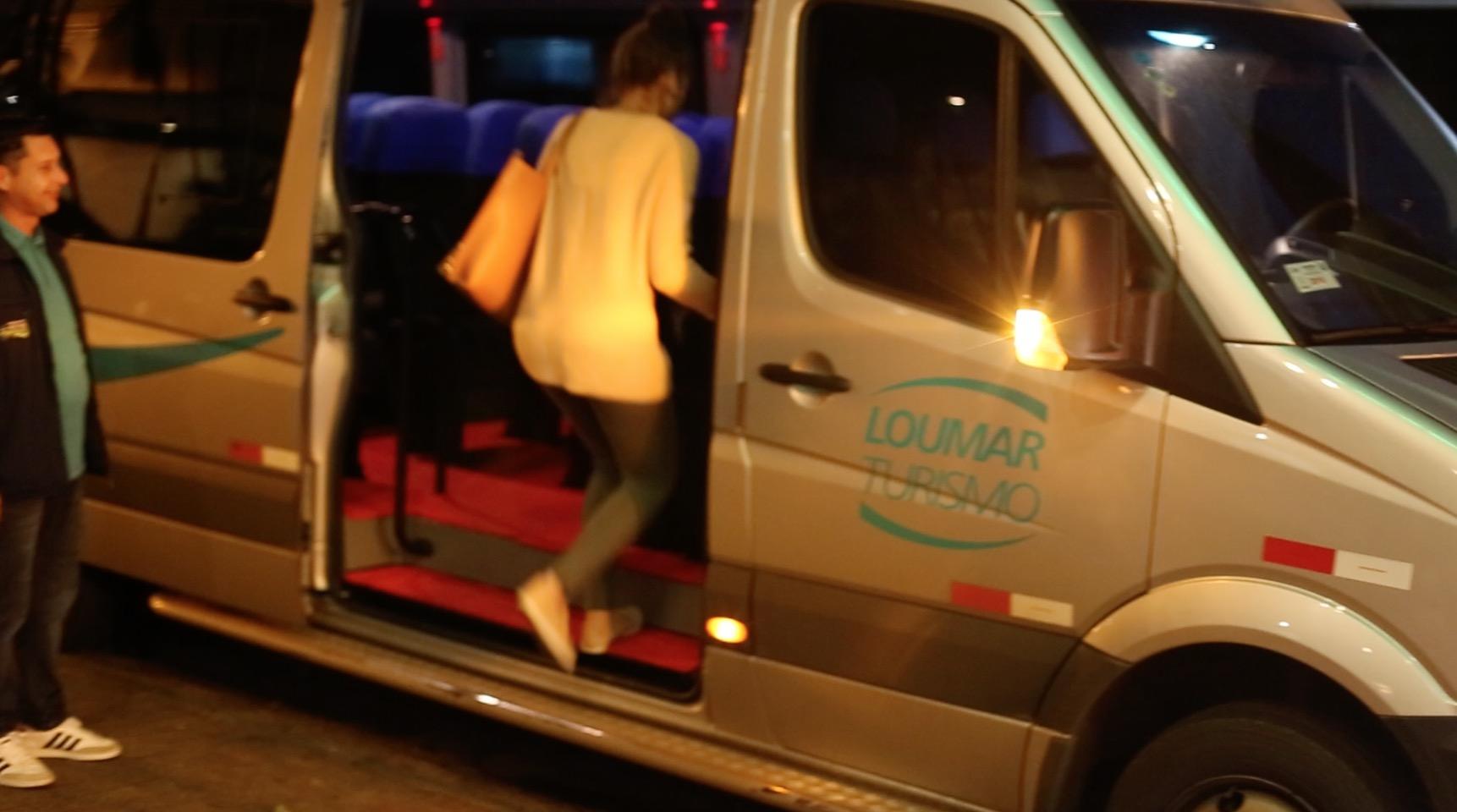 Os transportes da Loumar são realizados em vans modernas. | Foto: Garon Piceli