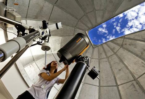 Foz do Iguaçu tem até Polo Astronômico onde é possível se encantar com o mistério do universo