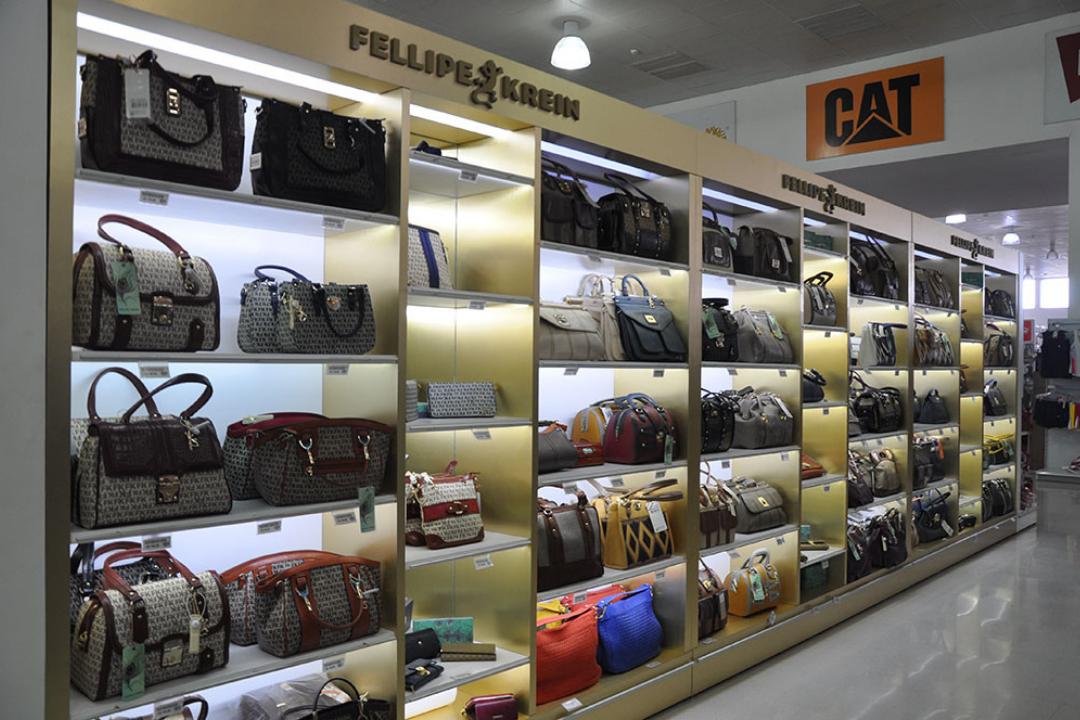Bolsas Fellipe Krein podem ser adquiridos nas compras no Paraguai