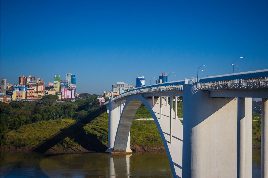 turismo em foz: ponte da amizade