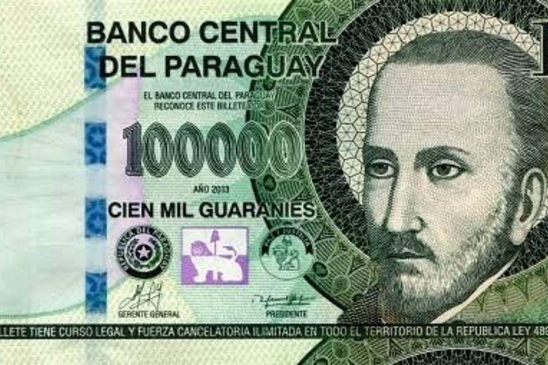 Cédula de 100 mil guaranies
