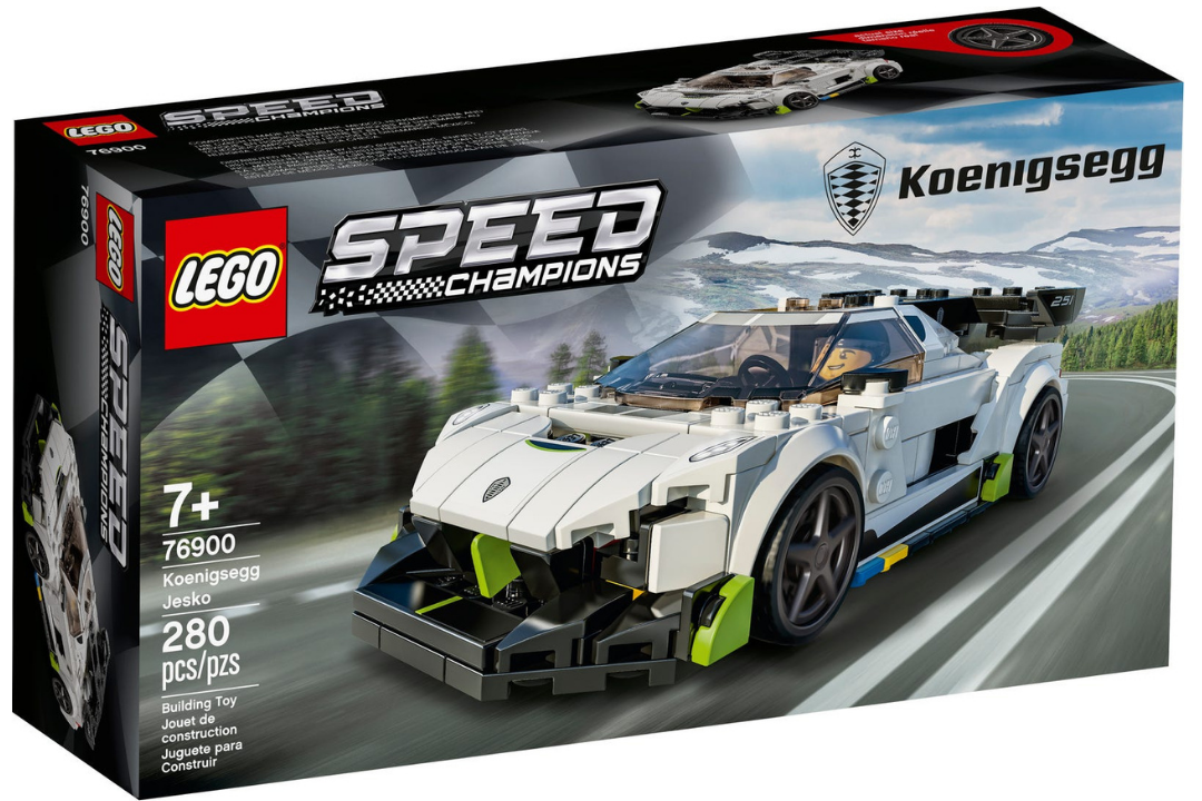 Linha Lego Speed Champions