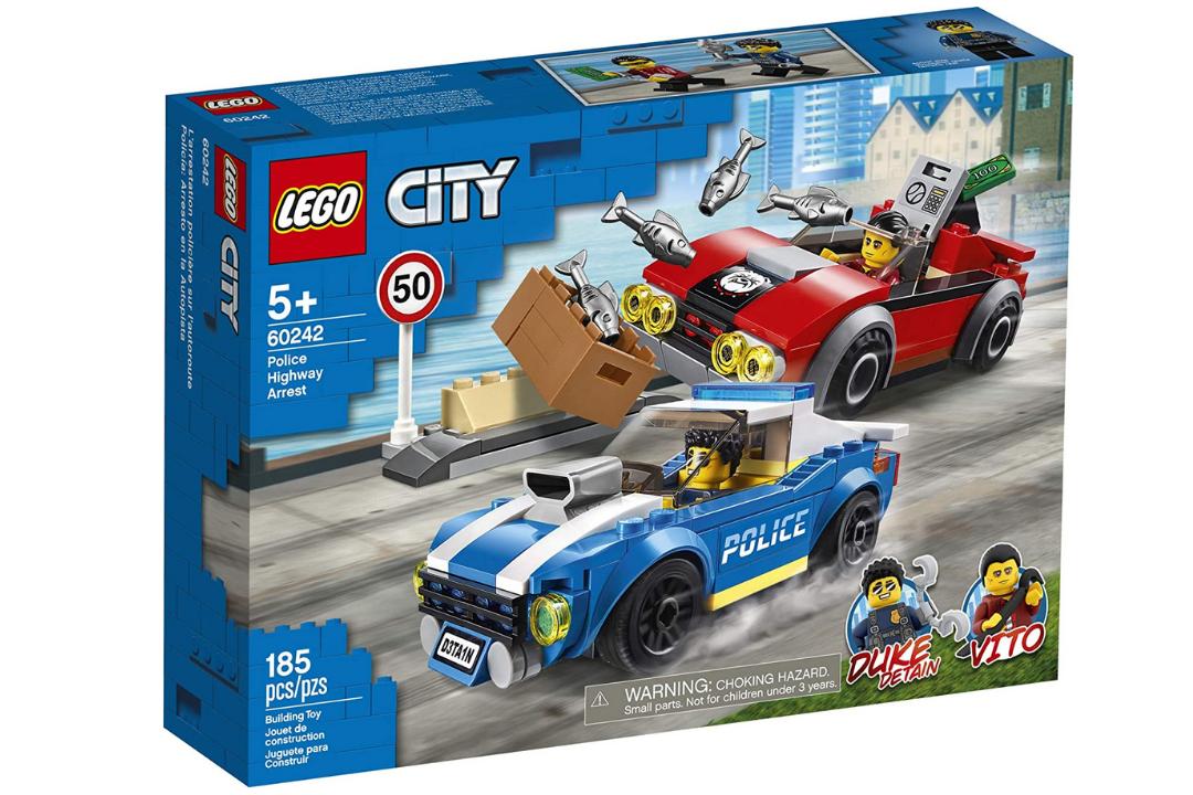 City - Uma das mais procuradas linhas de brinquedo da Lego no Paraguai