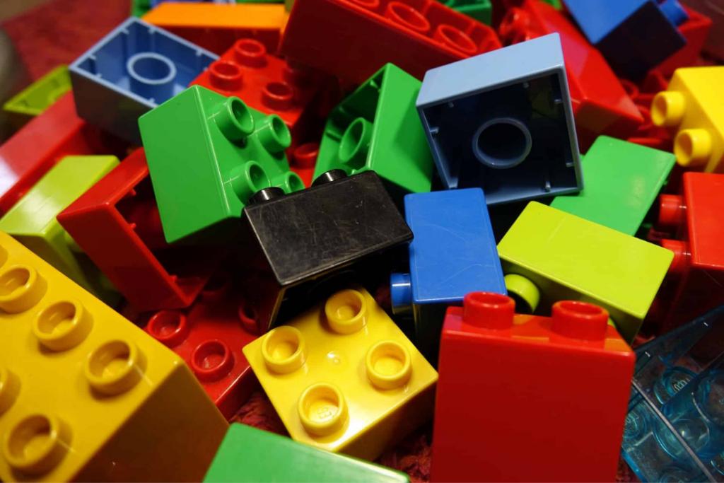Os melhores brinquedos Lego